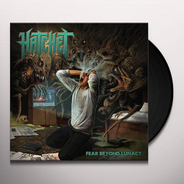 Hatchet FEAR BEYOND LUNACY Vinyl Record