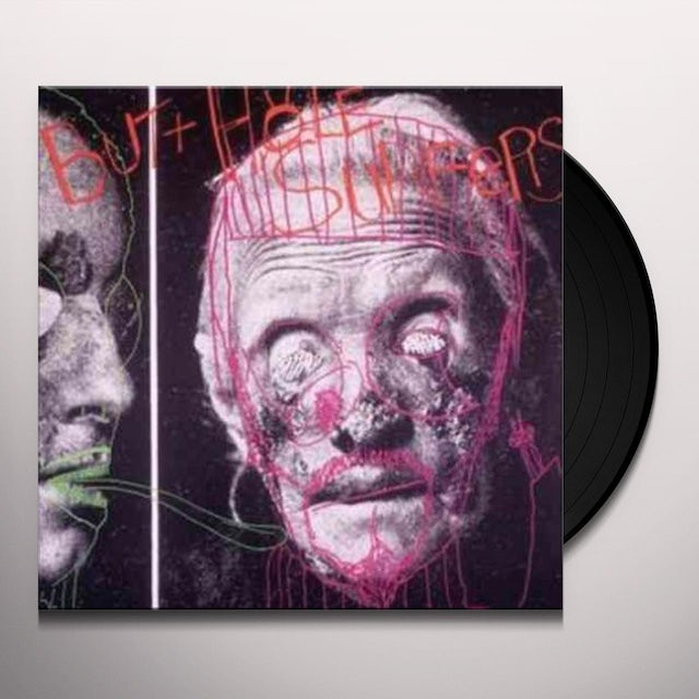 Butthole Surfers PSYCHIC POWERLESS ANOTHER MAN'S SAC Vinyl Record