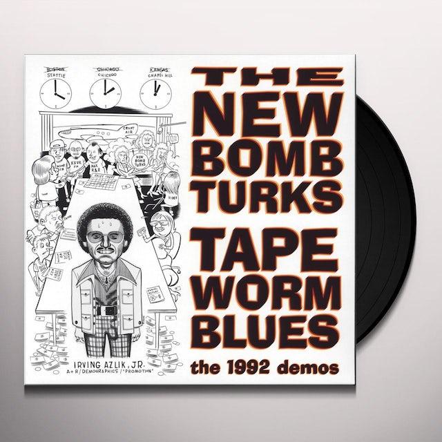New Bomb Turks TAPEWORM BLUES (1992 DEMOS) Vinyl Record