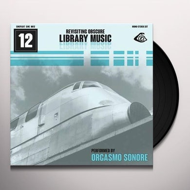 REVISITING OBSCURE LIBRARY MUSIC / O.S.T. Vinyl Record - UK Release