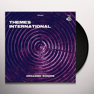 Orgasmo Sonore THEMES INTERNATIONAL Vinyl Record
