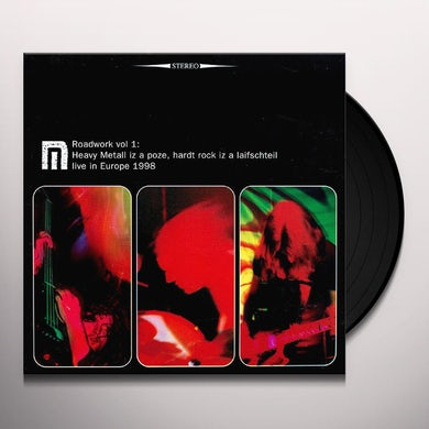 Motorpsycho ROADWORK 1: LIVE IN EUROPE 1998 Vinyl Record