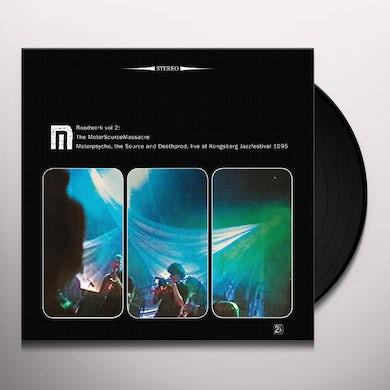 Motorpsycho ROADWORK 2: MOTORSOURCEMASSACRE Vinyl Record