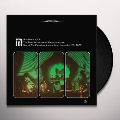 Motorpsycho ROADWORK 3: FOUR NORSEMEN OF THE APOCALYPSE Vinyl Record
