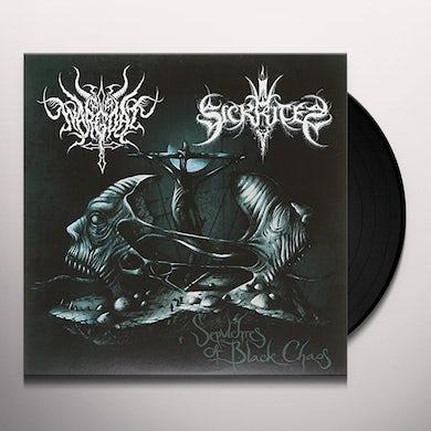 SICKRITES / WARGOAT SEPULCHRES OF BLACK CHAOS Vinyl Record