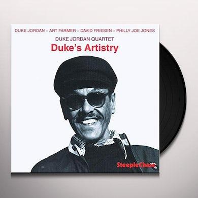Duke Jordan DUKE'S ARTISTRY Vinyl Record
