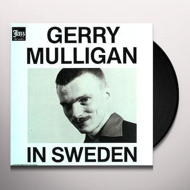 Gerry Mulligan IN SWEDEN Vinyl Record