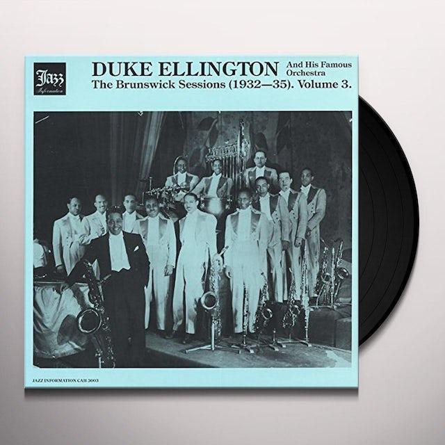 Duke Ellington BRUNSWICK SESSIONS 3 Vinyl Record