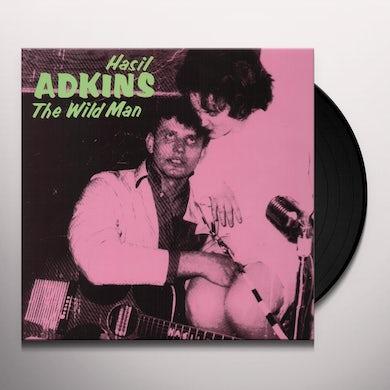 Hasil Adkins WILDMAN Vinyl Record