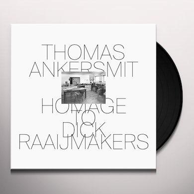 Thomas Ankersmit HOMAGE TO DICK RAAIJMAKERS Vinyl Record