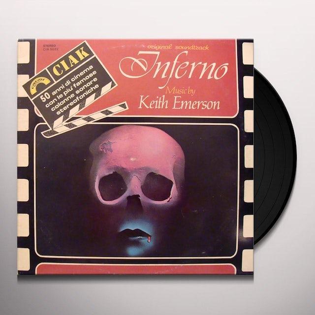 Keith Emerson INFERNO Vinyl Record