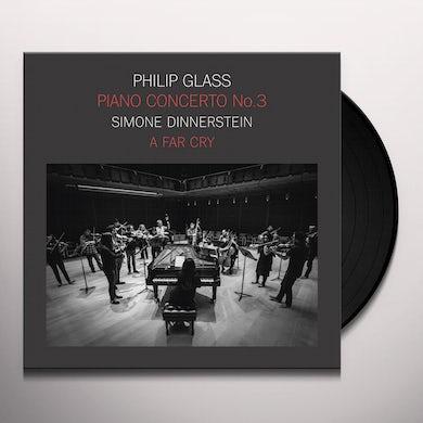Simone Dinnerstein PHILIP GLASS: PIANO CONCERTO NO.3 Vinyl Record