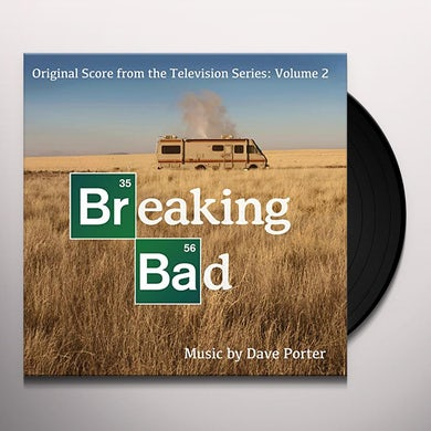 Dave Porter BREAKING BAD: ORIGINAL SCORE 2 Vinyl Record