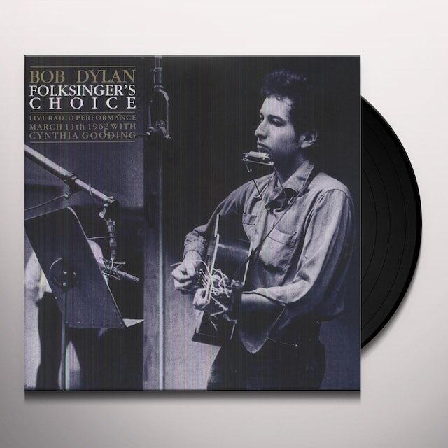 Bob Dylan FOLKSINGERS CHOICE (UK) (Vinyl)