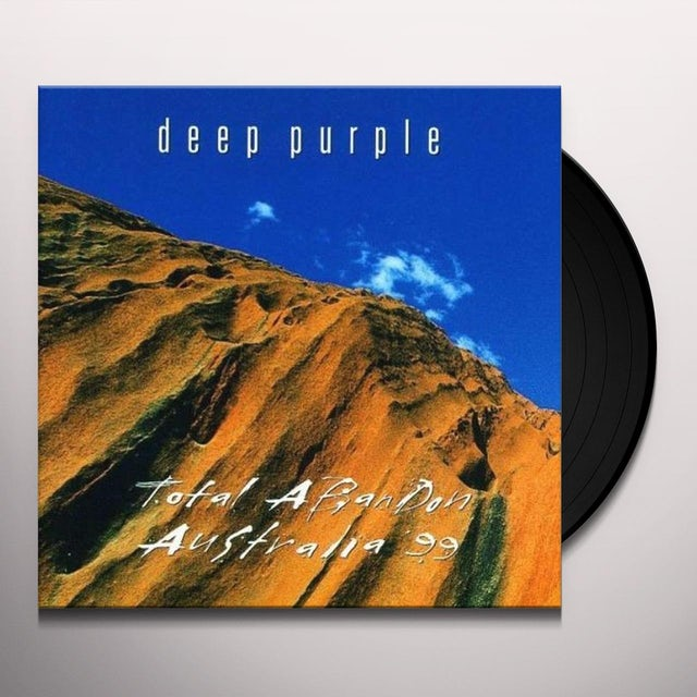 Deep Purple TOTAL ABANDON: AUSTRALIA 99 Vinyl Record