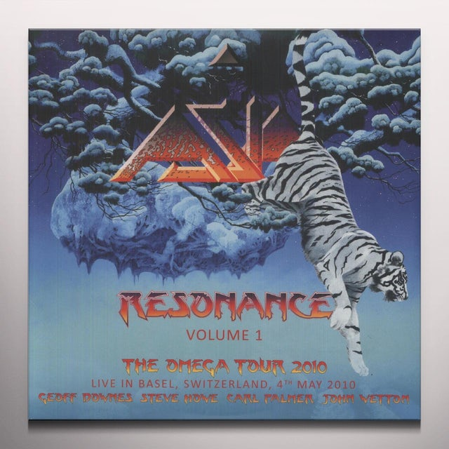 Asia RESONANCE: LIVE IN BASIL SWITZERLAND 1 Vinyl Record
