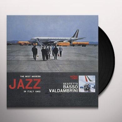 Sestetto Basso Valdambrini BEST MODERN JAZZ IN ITALY 1962 Vinyl Record
