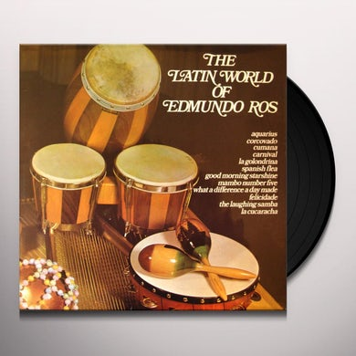LATIN WORLD OF EDMUNDO ROS Vinyl Record