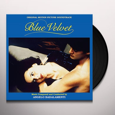Angelo Badalamenti BLUE VELVET (COLORED VINYL) Vinyl Record