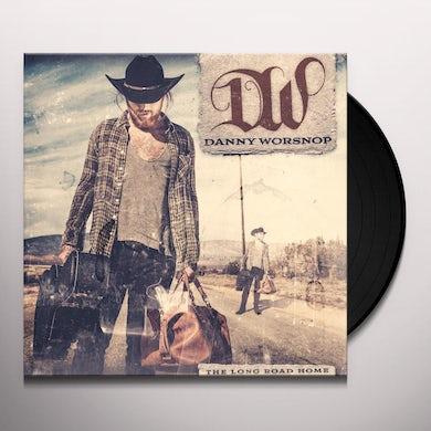 Danny Worsnop LONG ROAD HOME Vinyl Record