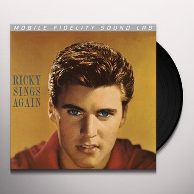 Ricky Nelson RICKY SINGS AGAIN Vinyl Record