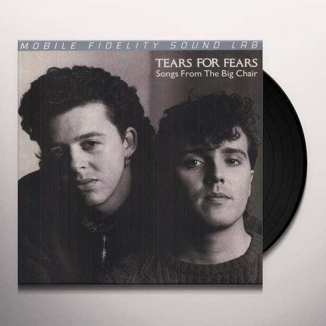 Tears For Fears SONGS FROM THE BIG CHAIR Vinyl Record