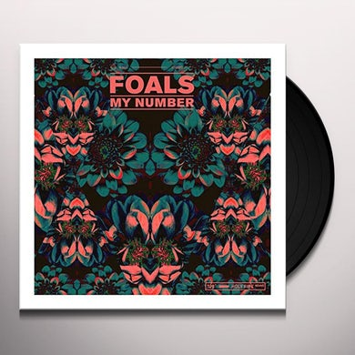 Foals MY NUMBER (GER) Vinyl Record