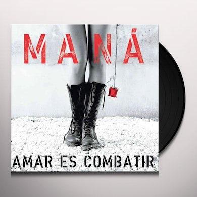 Mana AMAR ES COMBATIR Vinyl Record