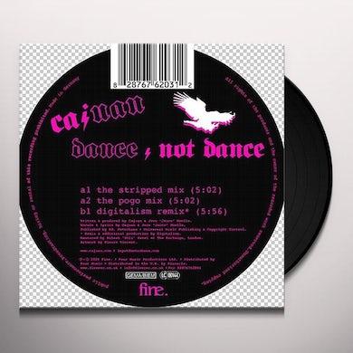 Cajuan DANCE/NOT DANCE Vinyl Record