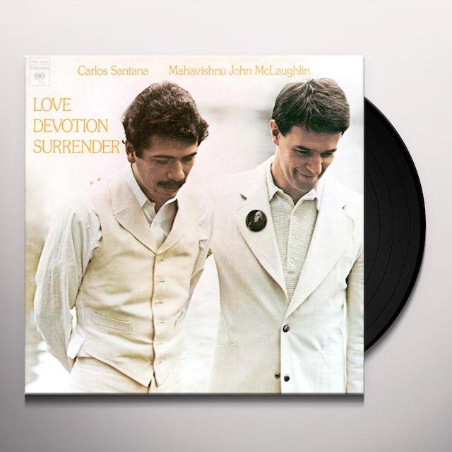 John Santana / Mclaughlin LOVE DEVOTION SURRENDER Vinyl Record