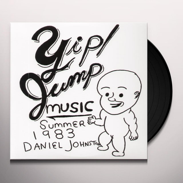 Daniel Johnston YIP JUMP MUSIC Vinyl Record
