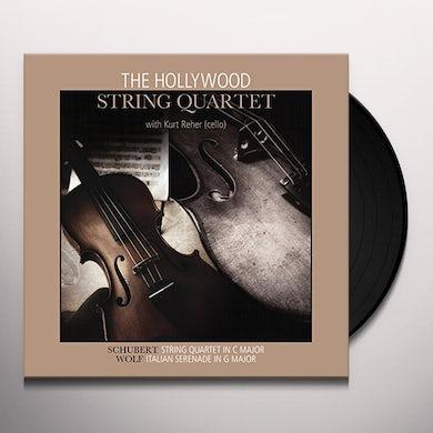 Schubert / Wolf STRING QRT IN C MAJ / ITALIAN SERENADE IN G MAJOR Vinyl Record