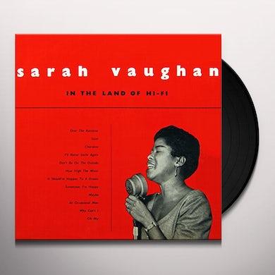 Sarah Vaughan IN THE LAND OF HI-FI Vinyl Record