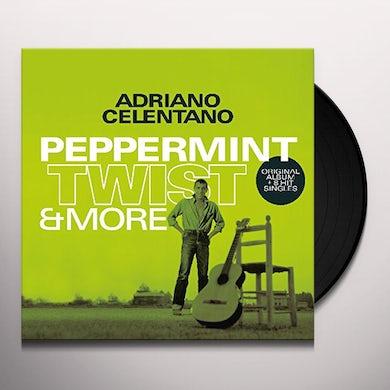 Adriano Celentano PEPPERMINT TWIST & MORE Vinyl Record