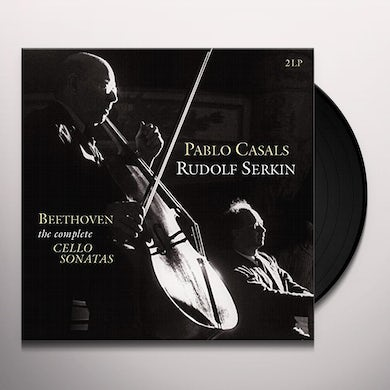 COMPLETE CELLO SONATAS 1-4 Vinyl Record