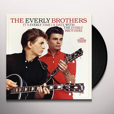 The Everly Brothers IT'S EVERLY TIME / DATE WITH Vinyl Record