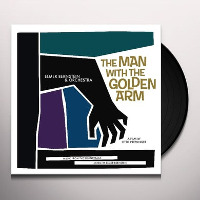 Elmer Bernstein MAN WITH THE GOLDEN ARM / Original Soundtrack Vinyl Record