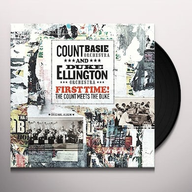 Count Basie FIRST TIME: THE COUNT MEETS THE DUKE Vinyl Record