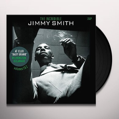 Jimmy Smith AT CLUB BABY GRAND WILMINGTON DELAWARE VOL 1 & 2 Vinyl Record