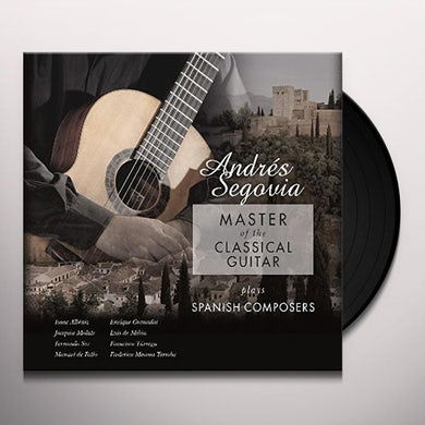 MASTER OF THE CLASSICAL GUITAR PLAYS SPANISH Vinyl Record