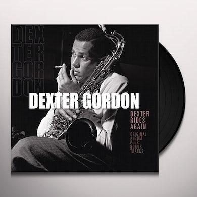 Dexter Gordon DEXTER RIDES AGAIN Vinyl Record