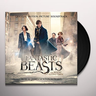James Newton Howard FANTASTIC BEASTS & WHERE TO FIND THEM / Original Soundtrack Vinyl Record