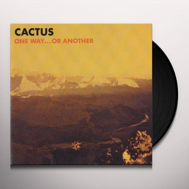 Cactus ONE WAY OR ANOTHER Vinyl Record