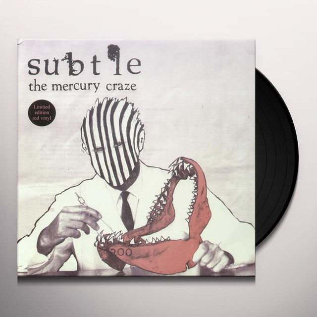 Subtle MERCURY CRAZE Vinyl Record