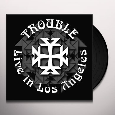 Trouble LIVE IN LOS ANGELES Vinyl Record
