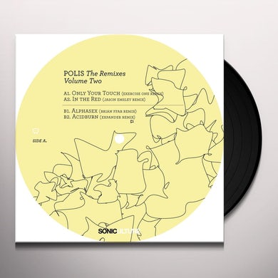 Billy Dalessandro Polis: The Remixes Vol. 2 Vinyl Record