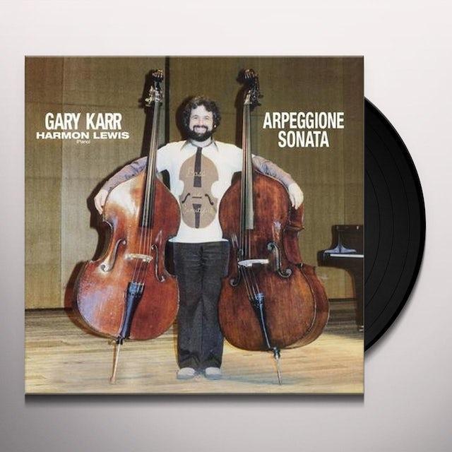 Gary Karr ARPEGGIONE SONATA Vinyl Record