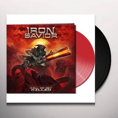 Iron Savior KILL OR GET KILLED (RED VINYL) Vinyl Record