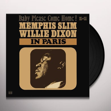 Willie Dixon & Memphis Slim IN PARIS Vinyl Record