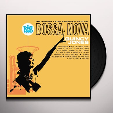 Quincy Jones BIG BAND BOSSA NOVA Vinyl Record